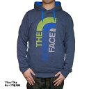 ノースフェイス パーカー メンズ ビックロゴ プルオーバー The North Face Men's Trivert Hoodie Pullover Cosmic Blue Heather/Bomber Blue 02P29Jul16