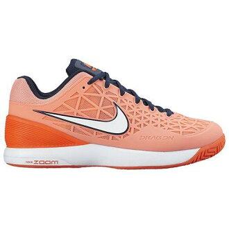 (索取)NIKE耐吉女士變焦距鏡頭盒2運動鞋網球鞋Nike Women's Zoom Cage 2 Atomic Pink Obsidian Total Crimson Obsidian[支持便利店領取的商品]