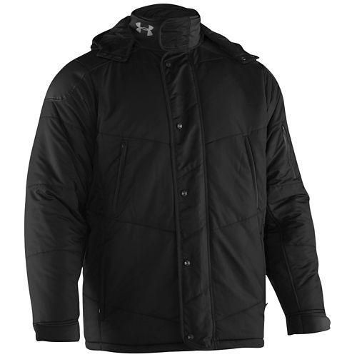 (取寄)アンダーアーマー メンズ チーム コールドギア インフラレッド エレメント ジャケット Under Armour Men's Team ColdGear Infrared Element Jacket Black Graphite 【コンビニ受取対応商品】