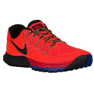 (得到 CDN) NIKE 耐克男士放大 Terra 卡拉 3 運動鞋跑步鞋紅色紅色耐克男子放大 Terra 基熱 3 總深紅色大學紅色賽車藍黑色 02P01Oct16