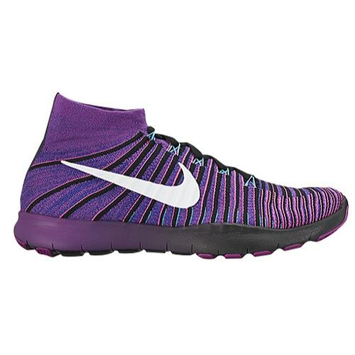 (取寄)NIKE ナイキ メンズ スニーカー フリー トレイン フォース フライニット トレーニングシューズ Nike Men's Free Train Force Flyknit Concord Vivid Purple White Pink Pow 【コンビニ受取対応商品】
