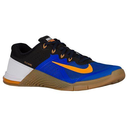 (取寄)NIKE ナイキ メンズ メトコン 2 スニーカー トレーニングシューズ Nike Men's Metcon 2 Racer Blue Black Gym Med Brown Vivid Orange 【コンビニ受取対応商品】