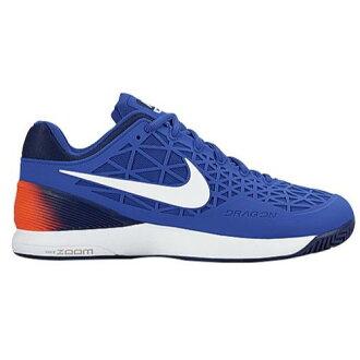 (得到 CDN) NIKE 耐克男士放大籠 2 網球鞋耐克男士放大籠 2 超鈷忠誠藍色總深紅色白色 02P05Nov16