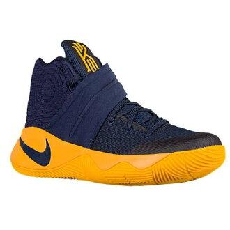 (得到 CDN) NIKE 耐克男式籃球鞋凱莉 2 耐克男士姬莉葉 2 午夜海軍大學金大學紅 02P01Oct16