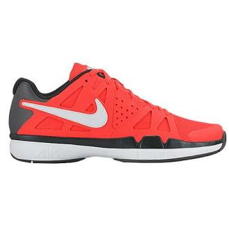(得到 CDN) NIKE 耐克男士空氣 Vesper 優勢網球鞋,耐克男士空氣蒸汽優勢總深紅色黑色暗灰色白色便利店收據為產品 02P03Dec16