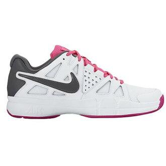 (索取)NIKE naikiredisueaveipaadobantejitoreningushuzuranningushuzu Nike Women's Air Vapor Advantage White Hyper Pink Vivid Pink Dark Grey[支持便利店領取的商品]