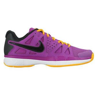 (索取)NIKE naikiredisueaveipaadobantejitoreningushuzuranningushuzu Nike Women's Air Vapor Advantage Hyper Violet Laser Orange White Black[支持便利店領取的商品]