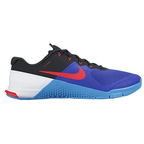 (取寄)NIKE ナイキ メンズ メトコン 2 スニーカー トレーニングシューズ Nike Men's Metcon 2 Racer Blue Bright Crisom Blue Glow Black 【コンビニ受取対応商品】