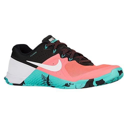 (取寄)NIKE ナイキ メンズ メトコン 2 スニーカー トレーニングシューズ Nike Men's Metcon 2 Bright Mango White Hyper Jade Black 【コンビニ受取対応商品】