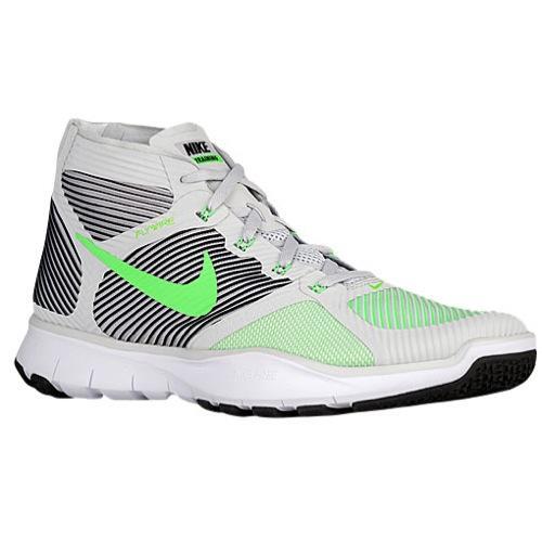 (取寄)NIKE ナイキ メンズ フリー トレイン インスティンクト スニーカー トレーニングシューズ Nike Men's Free Train Instinct Pure Platinum Rage Green Black White 【コンビニ受取対応商品】