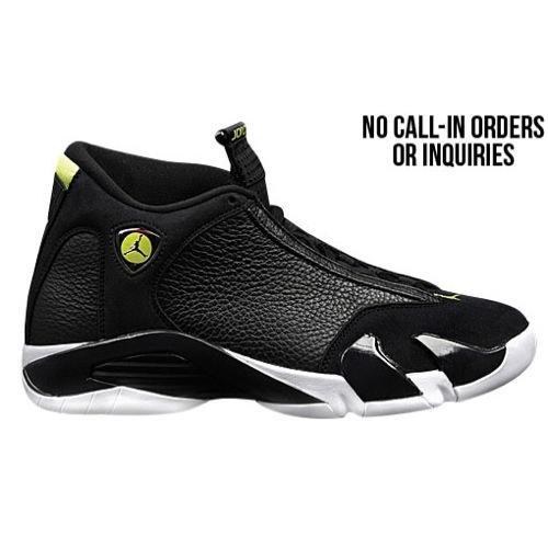 (取寄)ジョーダン メンズ レトロ 14 Jordan Men's Retro 14 Black Black White Vivid Green 【コンビニ受取対応商品】