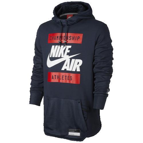 (取寄)ナイキ メンズ パーカー エア フーディ Nike Men's Air Hoodie Obsidian 【コンビニ受取対応商品】