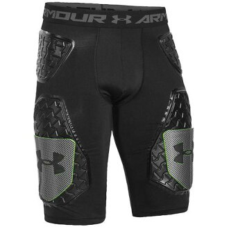 (索取)andaamamenzugemudeiama D3O 5-Pad足球腹帶UNDER ARMOUR Men's Gameday Armour D3O 5-Pad Football Girdle Black
