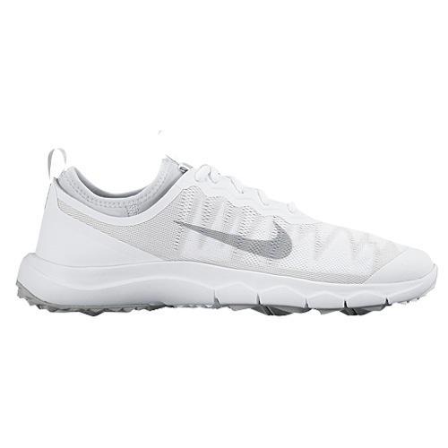 (取寄)NIKE ナイキ レディース FI バミューダ ゴルフシューズ Nike Women's FI Bermuda Golf Shoe White Wolf Grey 【コンビニ受取対応商品】