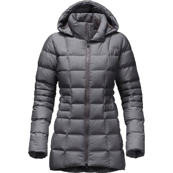 (取寄)ノースフェイス レディース トランジット ダウンジャケット 大きいサイズ The North Face Women Transit Down Jacket Tnf Medium Grey Heather 【コンビニ受取対応商品】
