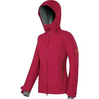 (Get CDN) 瑪莫特女性雷納游 HS 連帽的外套瑪莫特婦女 Luina 游 HS 連帽外套深紅色