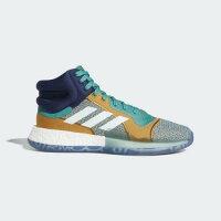 (取寄)アディダス メンズ マーキー ブースト バスケットボールシューズ adidas Mens Marquee Boost Shoes True Green / Ice Mint / Collegiate Navyの画像