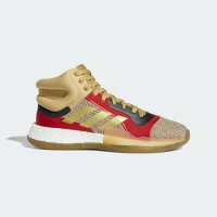 (取寄)アディダス メンズ マーキー ブースト バスケットボールシューズ adidas Mens Marquee Boost Shoes Raw Sand / Gold Metallic / Scarletの画像