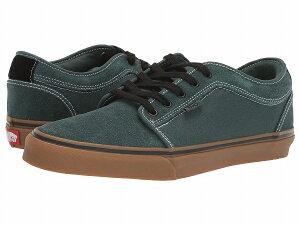 (取寄)Vans(バンズ) スニーカー チャッカ ロウ メンズ Vans Men's Chukka Low Trekking Green/Black