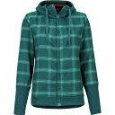 ショッピング登山 (取寄)マーモット レディース ストー ヘビーウェイト フランネル ジャケット Marmot Women Stowe Heavyweight Flannel Jacket Deep Teal