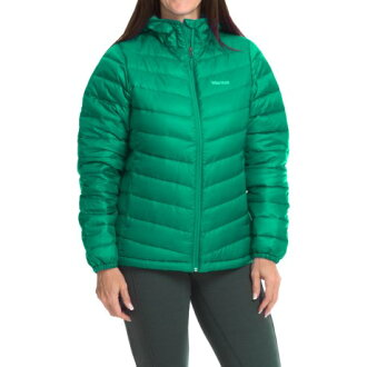 (Get CDN) 旱獺女性耶拿下來連帽外套旱獺婦女耶拿下來連帽夾克寶石綠色 02P03Dec16