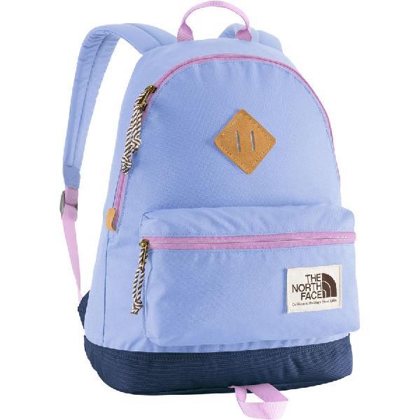 (取寄)ノースフェイス キッズ ミニ バークレー バックパック The North Face Mini Berkeley Backpack Grapemist Blue/Lupine 【コンビニ受取対応商品】