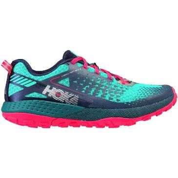 (取寄)ホカ オネオネ レディース スピード インスティンクト 2 トレイル ランニングシューズ Hoka One One Women Speed Instinct 2 Trail Running Shoe Peacoat / Ceramic