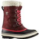 (取寄)ソレル レディース ウィンター カーニバル ブーツ Sorel Women Winter Carnival Boot Redwood/Candy Apple