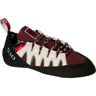 (索取)五十女士警報聲Lace-Up攀岩鞋Five Ten Women Siren Lace-Up Climbing Shoe Merlot