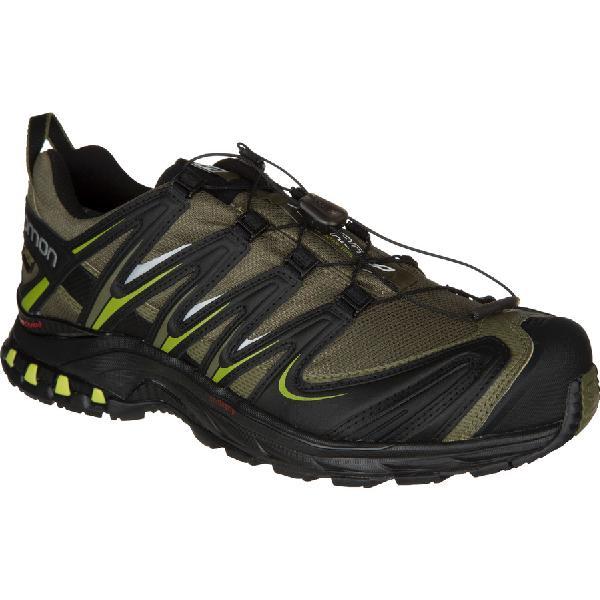 (取寄)サロモン メンズ XAプロ 3DGTX トレイル ランニングシューズ Salomon Men's XA Pro 3D GTX Trail Running Shoe Iguana Green/Black/Seaweed Green 【コンビニ受取対応商品】