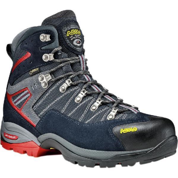 (取寄)アゾロ メンズ アバロン GTX ハイキング ブーツ Asolo Men's Avalon GTX Hiking Boot Night Blue/Gunmetal 【コンビニ受取対応商品】