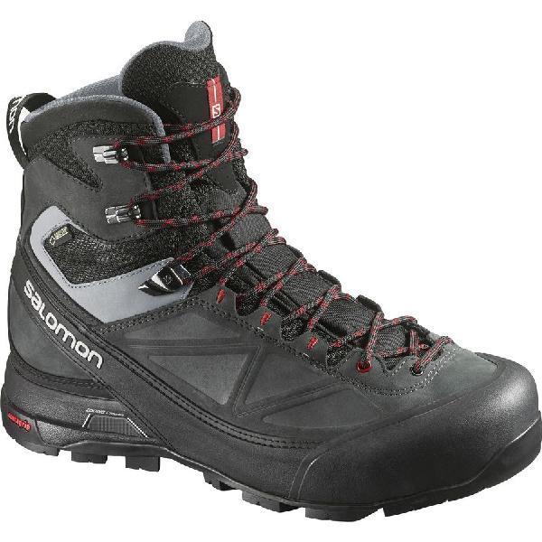 (取寄)サロモン メンズ X アルプ MTN GTX ブーツ Salomon Men's X Alp MTN GTX Boot Black/Asphalt/Flea 【コンビニ受取対応商品】