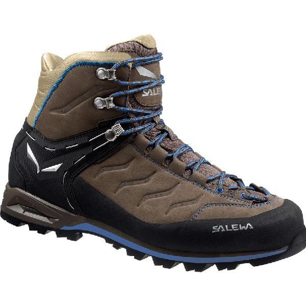 (取寄)サレワ メンズ マウンテン トレーナー ミッド バックパッキング ブーツ Salewa Men's Mountain Trainer Mid Backpacking Boot Walnut/Royal Blue 【コンビニ受取対応商品】