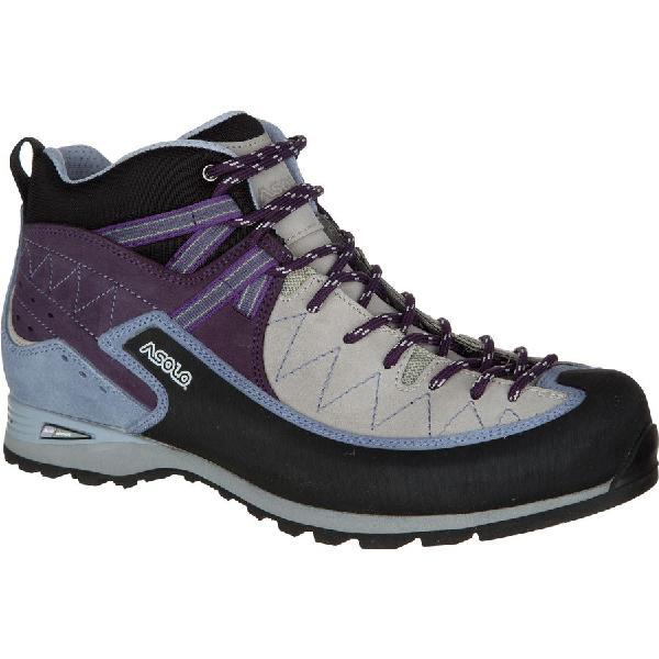 (取寄)アゾロ レディース ジュムラ ハイキング ブーツ Asolo Women Jumla Hiking Boot Silver/Lilac 【コンビニ受取対応商品】