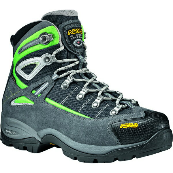 (取寄)アゾロ レディース フューチュラ GTX ハイキング ブーツ Asolo Women Futura GTX Hiking Boot Grey/Giada Green 【コンビニ受取対応商品】