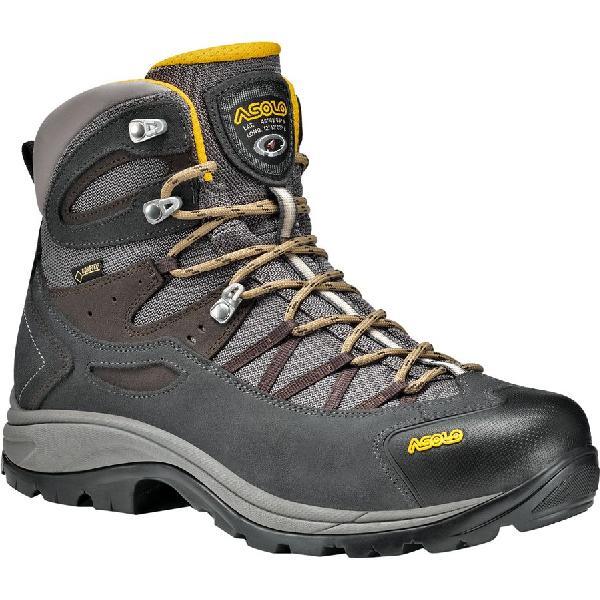 (取寄)アゾロ メンズ スイング GV ハイキング ブーツ Asolo Men's Swing GV Hiking Boot Shark/Stone 【コンビニ受取対応商品】