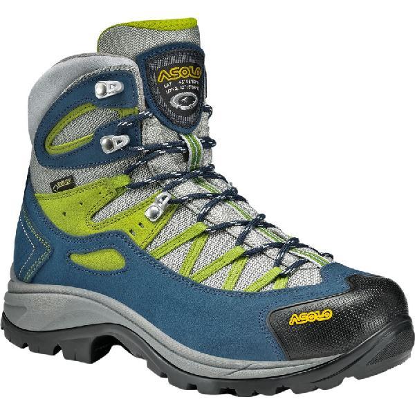 (取寄)アゾロ レディース スイング GV ハイキング ブーツ Asolo Women Swing GV Hiking Boot Denim Blue/Grey 【コンビニ受取対応商品】