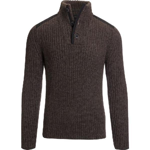 (取寄)NAU メンズ ナスカ アルパカ セーター NAU Men's Nazca Alpaca Sweater Clove Heather 【コンビニ受取対応商品】