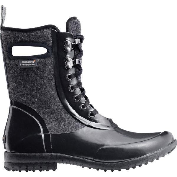 (取寄)ボグス レディース シドニー ウール ブーツ Bogs Women Sidney Wool Boot Black Multi 【トレッキング クライミング アウトドア 登山靴】 【レディース シューズ ブーツ 大きいサイズ】【ぐんま】