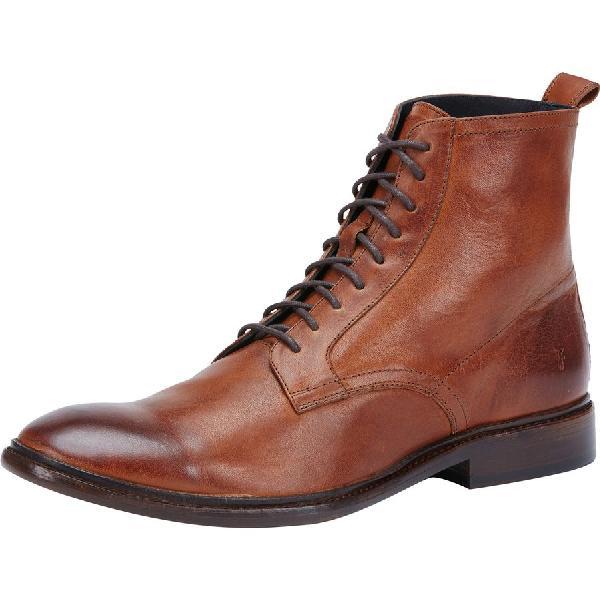 (取寄)フライ メンズ パトリック レース アップ ブーツ Frye Men's Patrick Lace Up Boot Copper