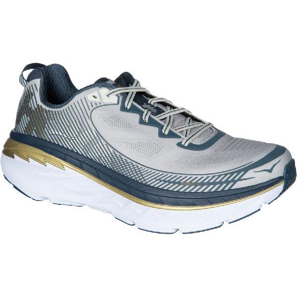 (取寄)ホカ オネオネ メンズ ボンダイ 5 ランニングシューズ Hoka One One Men's Bondi 5 Running Shoe Cool Grey/Midnight Navy
