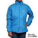 ホグロフス レディース バリア 3 キュー ジャケット ブルー HAGLOFS Women Barrier III Q Jacket Aero Blue