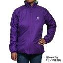 ホグロフス レディース バリア 3 キュー ジャケット パープル HAGLOFS Women Barrier III Q Jacket Royal Purple あす楽