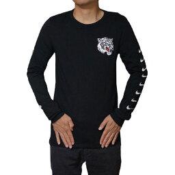 NIKE <strong>ナイキ</strong> メンズ 長袖Tシャツ ブラック エアマックス プラス チューン ロングスリーブ ロンT NIKE Men's Air Max Plus Tuned Long Sleeve T-shirt Black White