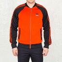 アディダス オリジナルス メンズ スーパースター トラックジャケット ジャージ オレンジ adidas ORIGINALS Men's Superstar Track Jacket Collegiate Orange AJ7002【コンビニ受取対応商品】