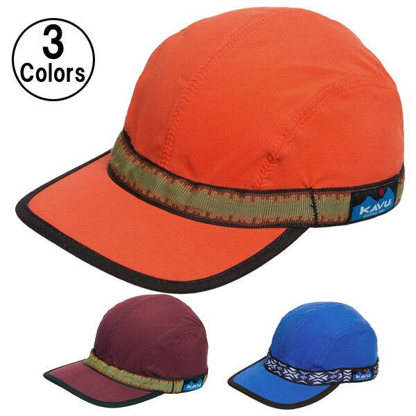 KAVU カブー キャップ シンセティック ストラップキャップ KAVU Synthetic Strap Cap 【登山 アウトドア ファッション ブランド】 あす楽対応