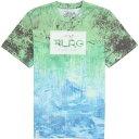 エルアールジー メンズ Tシャツ リサーチ コレクション ルーツ ピープル サブリメイテッド シャツ 青 LRG Men's Research Collection Roots People Sublimated Shirt Kelly