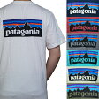 patagonia Tシャツ パタゴニア メンズ ロゴプリント 半袖Tシャツ Patagonia Men's P-6 LOGO Cotton T-Shirt