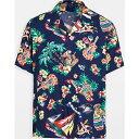 ショッピングsailing (取寄)ポロ ラルフローレン メンズ セーリング ベアー ショート スリーブ シャツ Polo Ralph Lauren Men's Sailing Bear Short Sleeve Shirt Multi