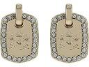 (取寄)ローレン ラルフローレン レディース ドロップ ピアス LAUREN Ralph Lauren Women's Drop Earrings Gold/Crystal